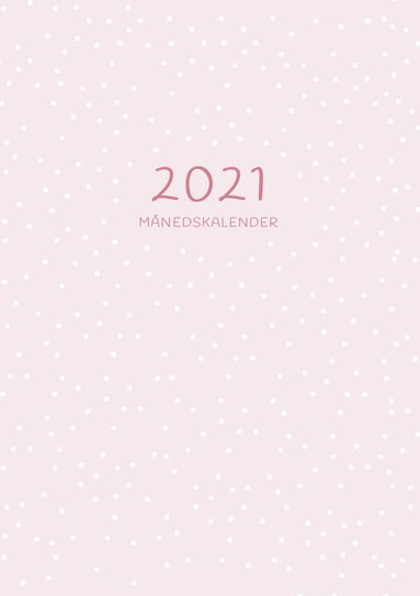 Kalender 2021 A5 Månadskalendern 1