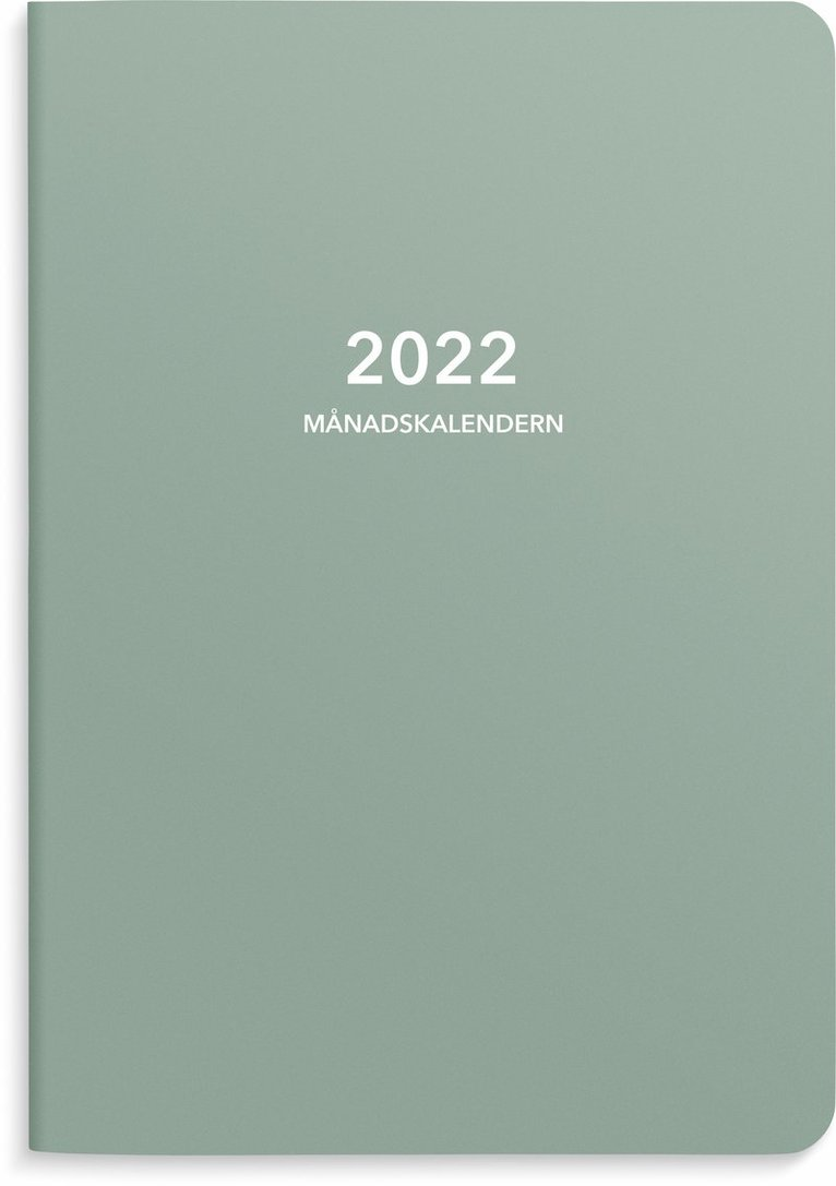 Kalender 2022 A5 Månadskalendern 1