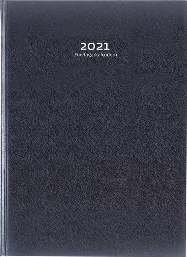 Kalender 2021 Företagarkalendern inb konstläder svart 1