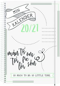 Kalender 2020-2021 Doodle II