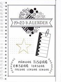 Kalender 2019-2020 Doodle III A5