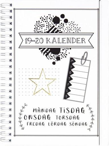 Kalender 2019-2020 Doodle III A5 1