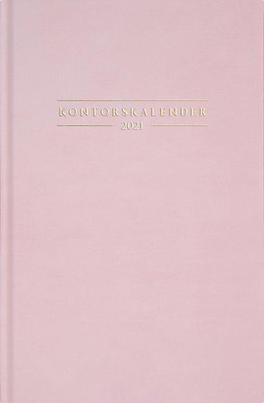 Kalender 2021 Kontorskalender rosa 1