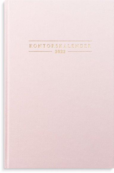 Kalender 2022 Kontorskalender rosa