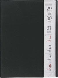 Kalender 2020 Stor Veckokalender plast svart
