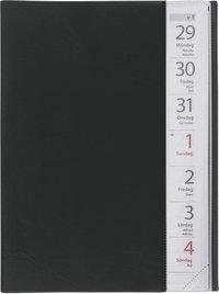 Kalender 2021 Stor Veckokalender plast svart