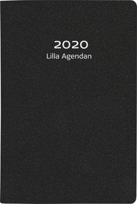Kalender 2020 Lilla Agendan konstläder svart