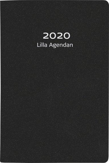 Kalender 2020 Lilla Agendan konstläder svart 1