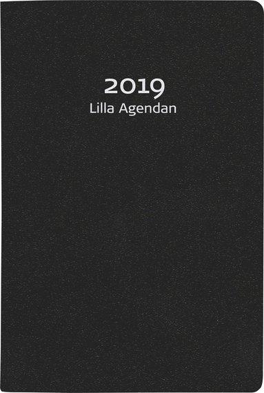 Kalender 2019 Lilla Agendan konstläder svart 1