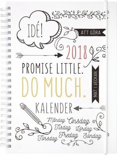 Kalender 2018 Veckoplanering Doodle 1