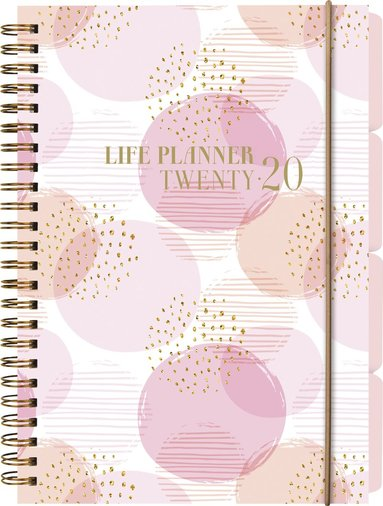 Kalender 2020 A5 Life Planner rosa 1