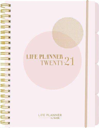 Kalender 2021 A5 Life Planner rosa 1