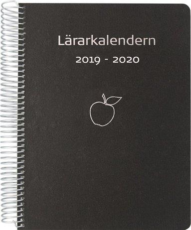 Kalender 2019-2020 Lärarkalendern svart 1