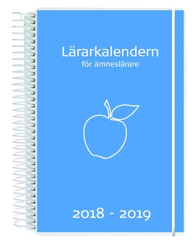 Kalender 18-19 Lärarkalendern Ämneslärare 1