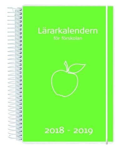 Kalender 18-19 Lärarkalendern Förskola