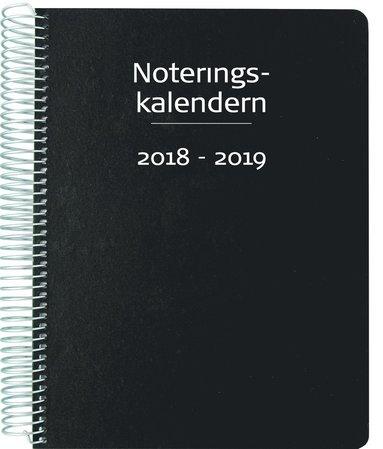 Kalender 18-19 Noteringskalendern för lärare