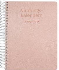 Kalender 2019-2020 Noteringskalendern för lärare rosa