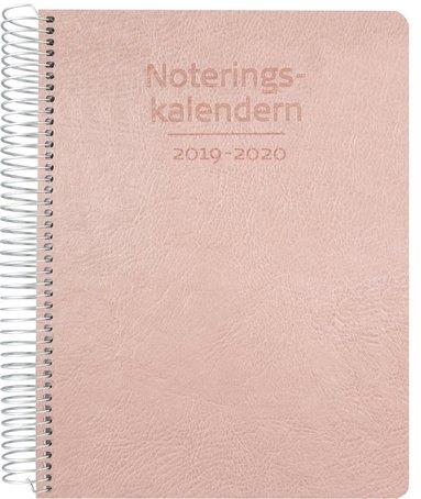 Kalender 2019-2020 Noteringskalendern för lärare rosa 1