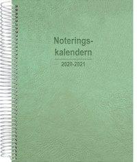 Kalender 2020-2021 Noteringskalendern för lärare grön