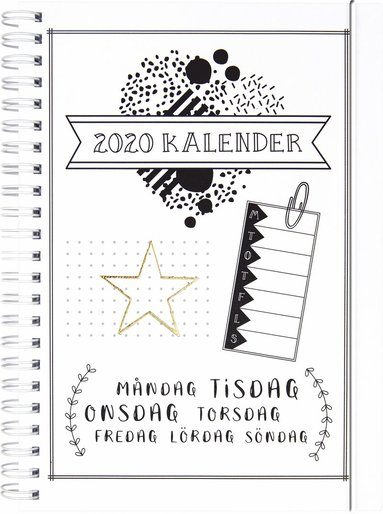 Kalender 2020 Doodle III 1