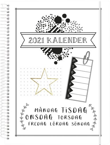 Kalender 2021 Doodle III 1