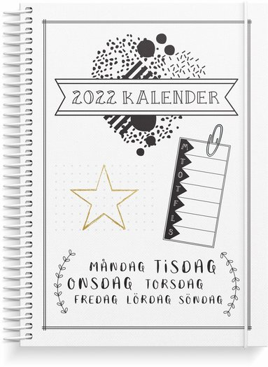 Kalender 2022 Doodle III
