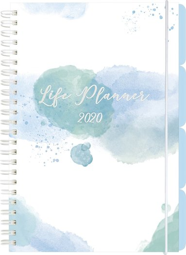 Kalender 2020 Life Planner, Week blå 1