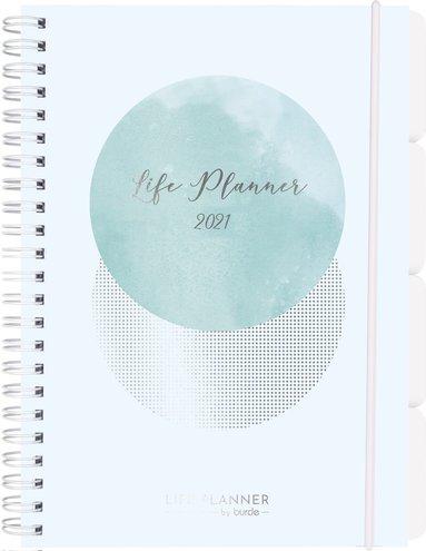 Kalender 2021 Life Planner Week blå 1