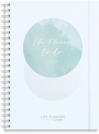 Kalender 2022 Life Planner Week blå