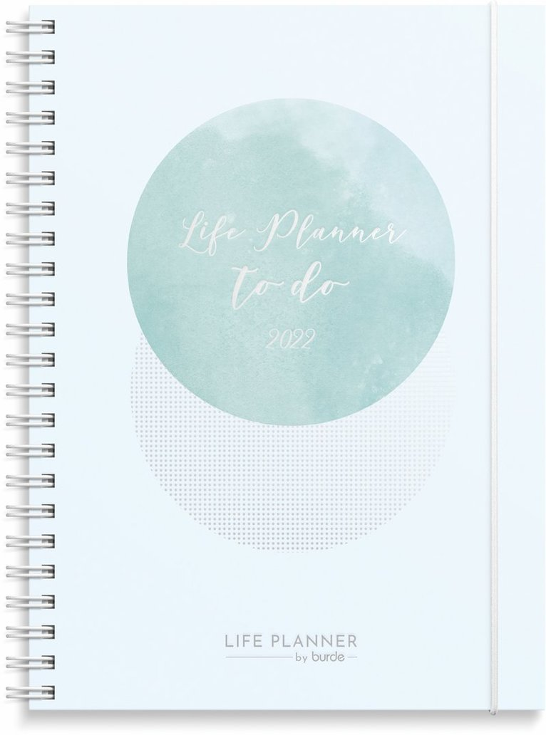 Kalender 2022 Life Planner Week blå 1