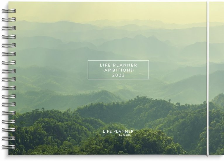 Kalender 2022 Life Planner Ambitions 1
