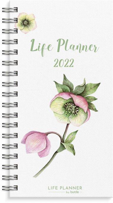 Kalender 2022 Life planner slim flower