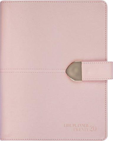 Kalender 2020 Life Planner konstläder rosa 1