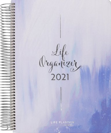 Kalender 2021 Life Organizer blå 1