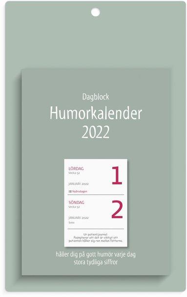 Väggblad 2022 Dagblock Humor