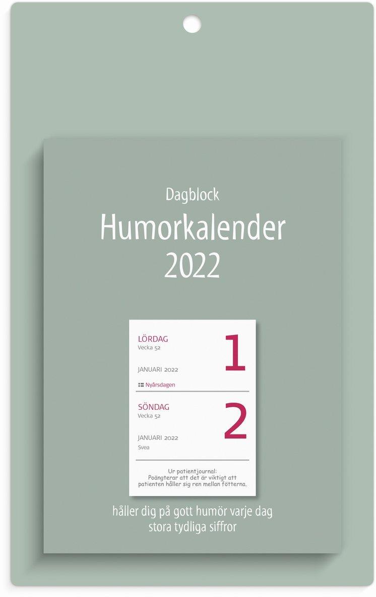 Väggblad 2022 Dagblock Humor 1