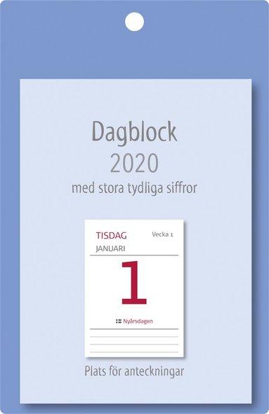 Väggblad 2020 Dagblock XL 1