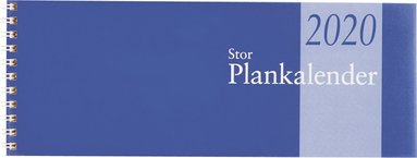 Bordskalender 2020 Stor Plankalender spiral 1