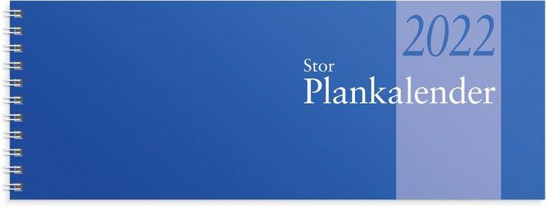Bordskalender 2022 Stor Plankalender spiral 1