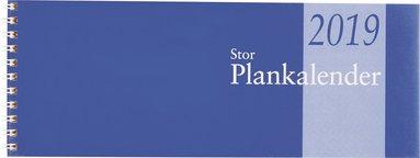 Bordskalender 2019 Stor Plankalender spiral 1