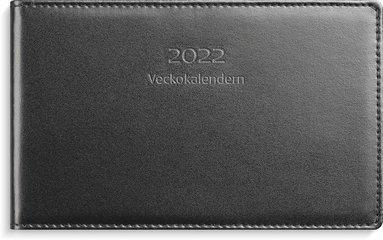 Kalender 2022 Veckokalendern skinn svart