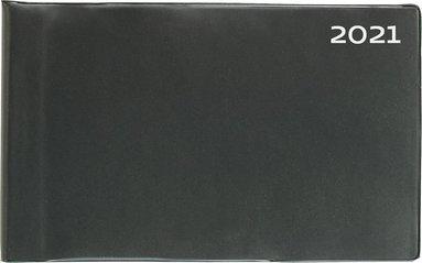 Veckokalendern 2021 plast svart 1