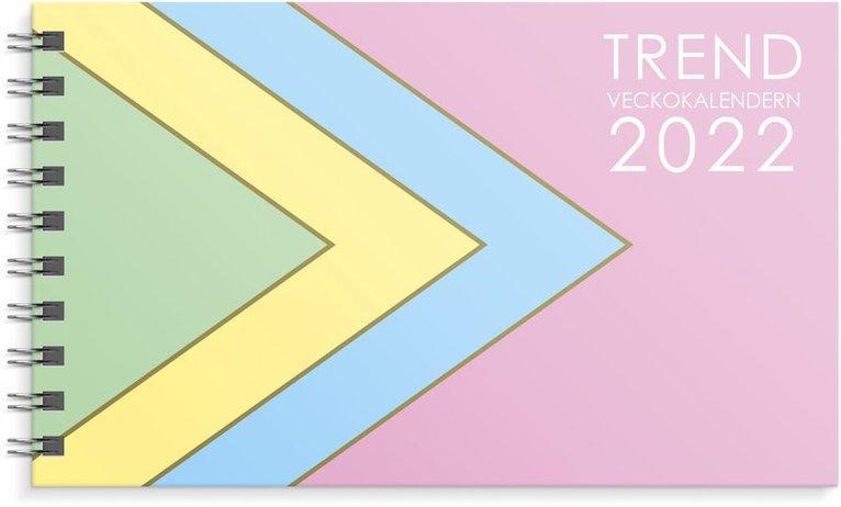 Kalender 2022 Veckokalendern Trend 1