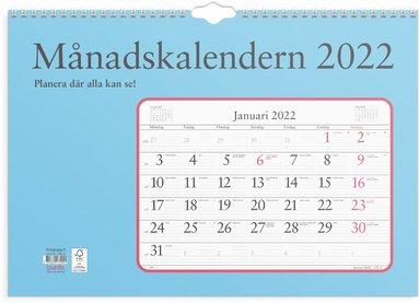 Väggkalender 2022 Månadskalendern