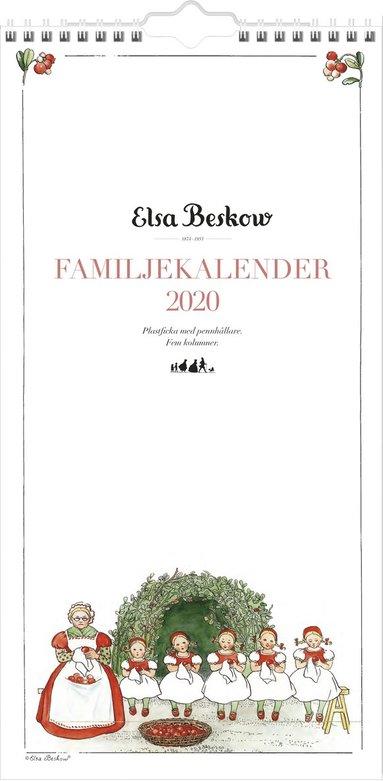 Väggkalender 2020 Familjekalender Elsa Beskow 1