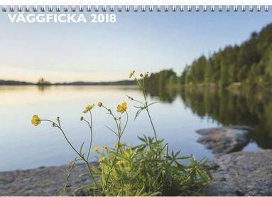 Väggkalender 2018 med ficka 1