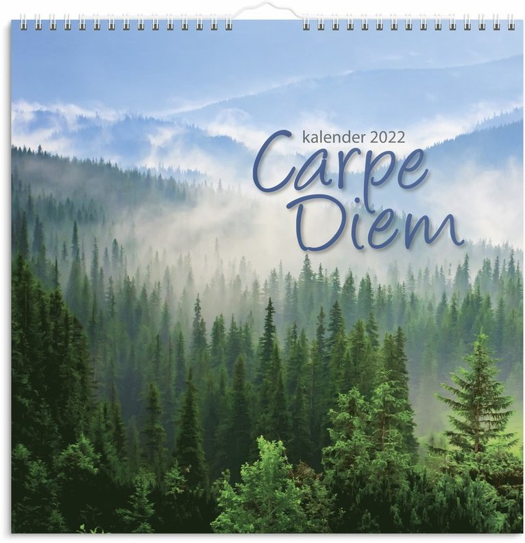 Väggkalender 2022 Carpe Diem 1