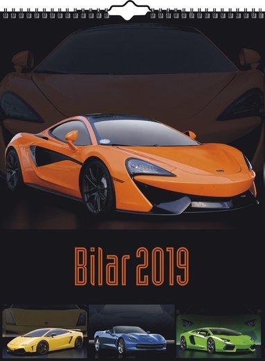 Väggkalender 2019 Bilar 1