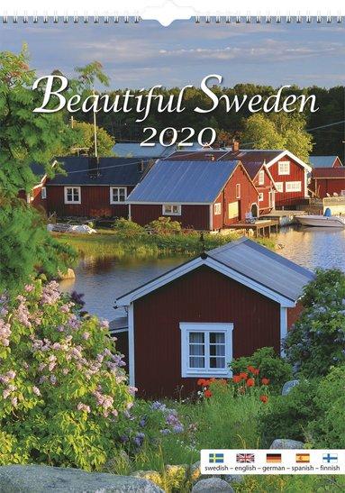 Väggkalender 2020 Beautiful Sweden 1