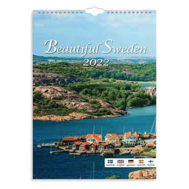 Väggkalender 2022 Beautiful Sweden  1